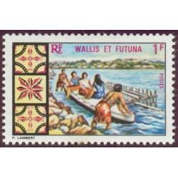 Timbre Wallis et Futuna n°174