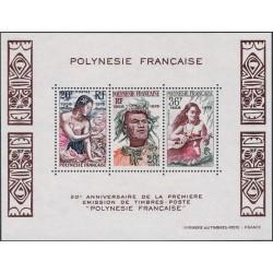 Polynésie Bloc Feuillet n°4