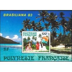 Polynésie Bloc Feuillet n°7