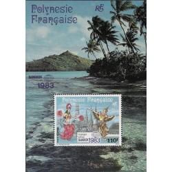 Polynésie Bloc Feuillet n°8