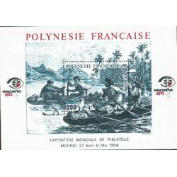 Polynésie Bloc Feuillet n°9