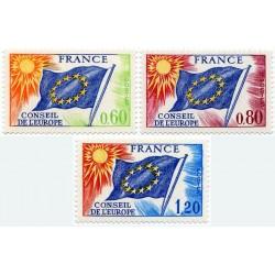 Timbres de Service France...