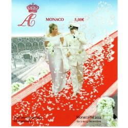 Monaco Bloc Feuillet n°101