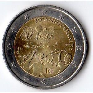2 Euros commémorative France 2011
