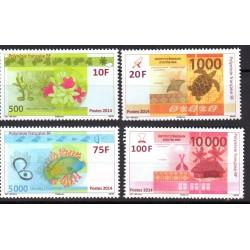 Timbre Polynésie n°1048 à 1051