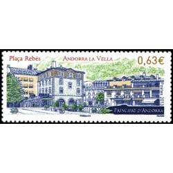 Timbre Andorre Français n°738