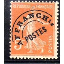 Timbres Préoblitérés France...