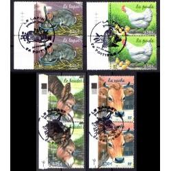 Série Bloc de 4 timbres...