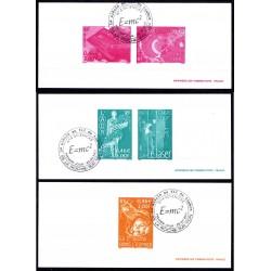 """Gravures des 5 timbres """"Le..."""