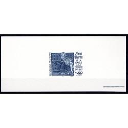 """Gravure du timbre """"De la..."""