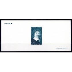 """Gravure du timbre """"René..."""