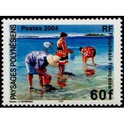 Timbre Polynésie n°735