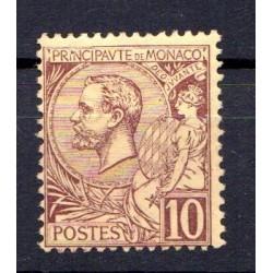 Timbre Monaco n°14 Prince...