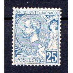 Timbre Monaco n°25 Prince...