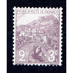Timbre Monaco n°27 Au...