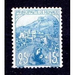 Timbre Monaco n°30 Au...