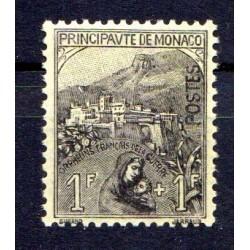 Timbre Monaco n°32 Au...