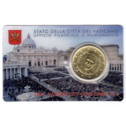 Vatican Coin Card n°6 2015