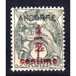 Timbre Andorre n°1 Timbres...