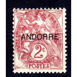 Timbre Andorre n°3 Timbres...