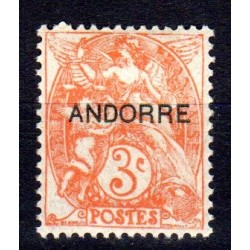 Timbre Andorre n°4 Timbres...
