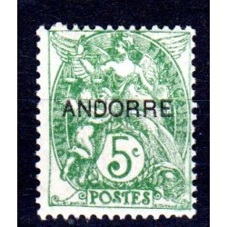 Timbre Andorre n°5 Timbres...