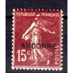 Timbre Andorre n°7 Timbres...
