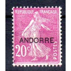 Timbre Andorre n°8 Timbres...