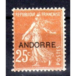 Timbre Andorre n°9 Timbres...