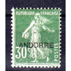 Timbre Andorre n°10 Timbres...