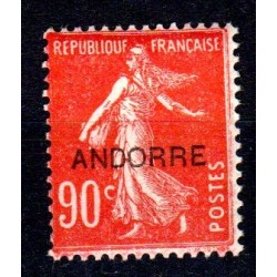 Timbre Andorre n°12 Timbres...