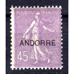 Timbre Andorre n°14 Timbres...