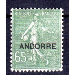 Timbre Andorre n°16 Timbres...