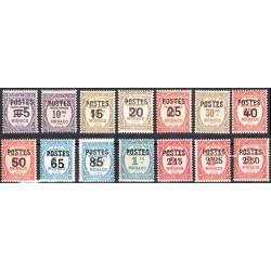 Timbre Monaco n°140 à 153...
