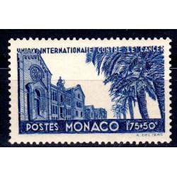Timbre Monaco n°168 40ème...