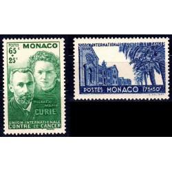 Timbre Monaco n°167 et 168...