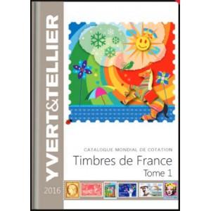 catalogue de cotation timbres de france 2016 chez philarama37. Black Bedroom Furniture Sets. Home Design Ideas