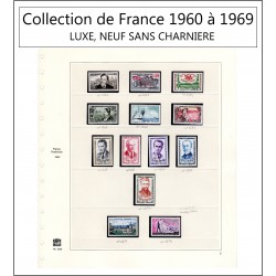 Timbre Collection de France...
