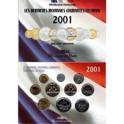 Coffret Francs BU - 10...