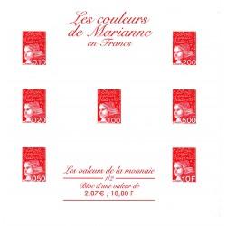 """Gravures des 7 timbres """"Les..."""