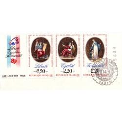Triptyque des 3 timbres...