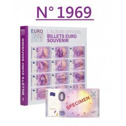 Billet spécimen N° 1969...
