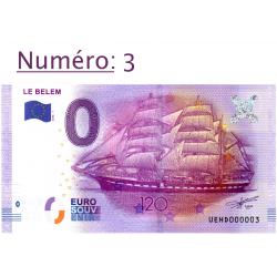 Billet touristique 0 € N°3...