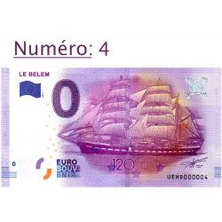 Billet touristique 0 € N°4...