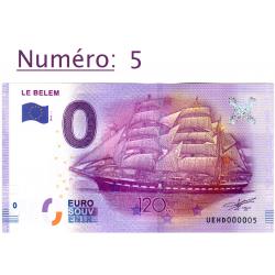 Billet touristique 0 € N°5...