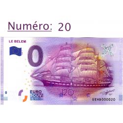 Billet touristique 0 € N°20...