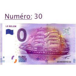 Billet touristique 0 € N°30...