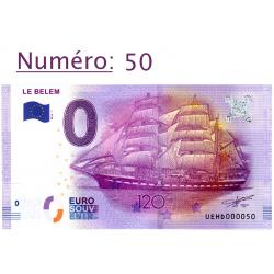 Billet touristique 0 € N°50...