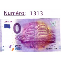 Billet touristique 0 €...