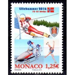 Timbre Monaco n°3018 Jeux...
